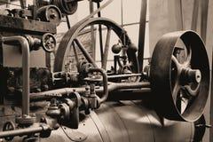 um motor de vapor Fotos de Stock