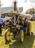 Um motor de vapor pequeno na exposição em uma reunião do vapor em Kent imagens de stock royalty free