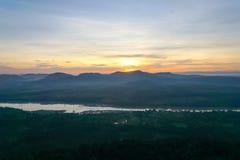 Um Mountain View no penhasco de Chana Dai, imagem de stock royalty free