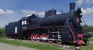 Um movimento da locomotiva do veterano Fotos de Stock Royalty Free