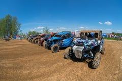 Um número de carros de esportes foto de stock royalty free