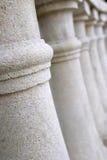 Um número de colunas Fotos de Stock Royalty Free