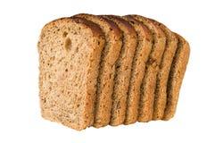 Um número de fatias de pão com raisin Imagens de Stock