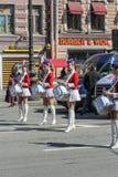 Um número de moças no uniforme Foto de Stock Royalty Free