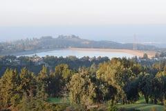 Um nascer do sol bonito de Califórnia fotografia de stock royalty free