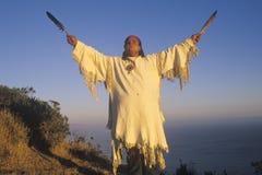Um nativo americano imagens de stock