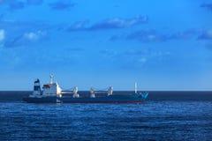 Um navio de carga Fotos de Stock