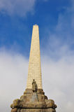 Um Obelisk do monte da árvore fotos de stock royalty free
