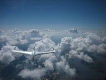 Um objeto de voo não identificado Imagem de Stock Royalty Free