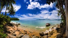 Um oceano bonito Fotografia de Stock Royalty Free