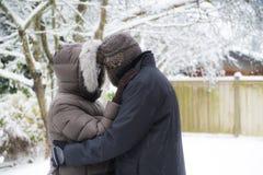 Um olhar dos pares em se Fotos de Stock Royalty Free