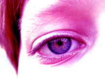 Um olho Imagens de Stock