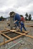 Um outro concreto derrama Fotografia de Stock Royalty Free