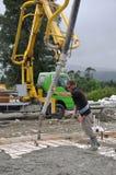 Um outro concreto derrama Foto de Stock Royalty Free