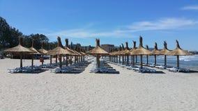 Um outro dia agradável na praia Imagens de Stock Royalty Free