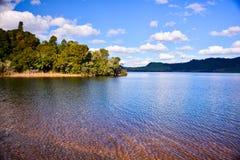 Um outro lago bonito de Nova Zelândia imagens de stock royalty free