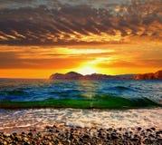 Um outro por do sol Imagem de Stock