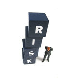 Um outro risco Fotos de Stock