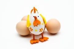 Um ovo da páscoa engraçado fotografia de stock royalty free