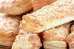 Um pão delicioso para o pequeno almoço Fotos de Stock