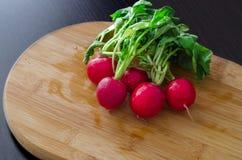 Um pacote de rabanetes coloridos Imagens de Stock Royalty Free