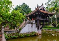 Um Pagoda da coluna foto de stock