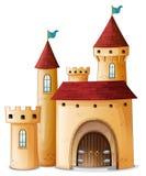 Um palácio bonito Fotos de Stock Royalty Free