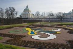 Um palácio bonito de Oranienbaum imagem de stock