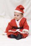 Um Papai Noel engraçado. Fotos de Stock Royalty Free