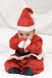 Um Papai Noel muito agradável. Foto de Stock Royalty Free