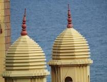 Um papel de parede bonito da torre do templo Imagens de Stock Royalty Free