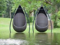 Um par de cadeira Imagens de Stock Royalty Free