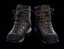 Um par de caminhar botas Fotografia de Stock Royalty Free