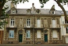Um par de casas de cidade francesas clássicas Imagens de Stock Royalty Free