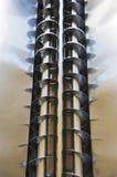 Um par de eixos helicoidais Imagens de Stock Royalty Free