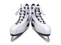 Um par de patins das mulheres Foto de Stock