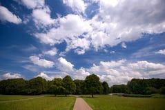 Um parque em Amsterdão Fotos de Stock Royalty Free