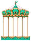 Um passeio do carrossel ilustração royalty free