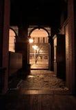 Um patamar ao lado da igreja Sophia Imagens de Stock