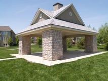 Um pavilhão ao ar livre do piquenique Imagens de Stock Royalty Free