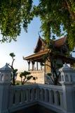 Um Pavion tradicional no forte Phra Sumen o Menam Chao Phraya River Imagens de Stock