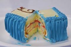 Um pedaço de bolo Imagem de Stock