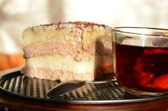 Um pedaço de bolo Fotografia de Stock
