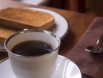 Um pequeno almoço claro Foto de Stock