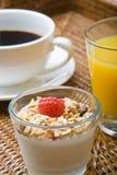 Um pequeno almoço saudável Imagem de Stock
