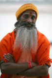 Um peregrino, Vanarasi, India Imagens de Stock