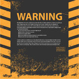 Um perigo sujo e gasto listra a textura ilustração do vetor