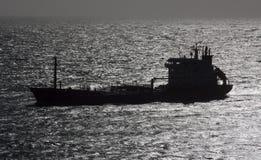 Um petroleiro do produto químico/petróleo. Fotografia de Stock Royalty Free