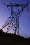 Um pilão da eletricidade Foto de Stock Royalty Free