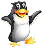 Um pinguim gordo de sorriso Fotografia de Stock Royalty Free